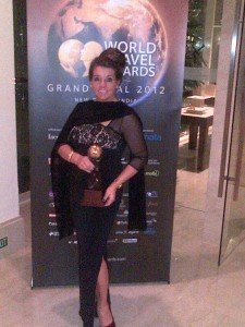 Debrah Dhuggah at the World Travel Awards, 2012