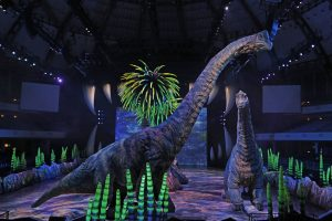 An example of the 'Walking With Dinosaurs' show