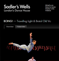 Sadler Wells Boing