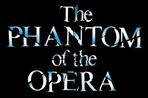 The title card for The Phantom Of The Opera