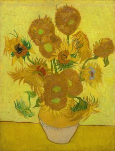 Vincent Van Gogh's 'Sunflowers' painting