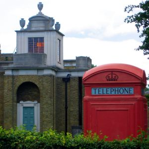 An external shot of Dulwich Picture Gallery, London