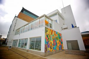 An external shot of the London Design Museum
