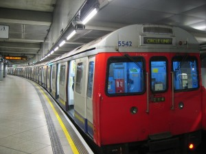 A London Tube train