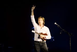 Sir Paul McCartney on stage