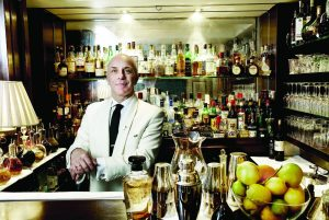 Alessandro Palazzi, the bartender at DUKES Bar, London