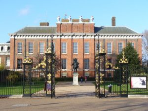 External shot of Kensington Palace, London