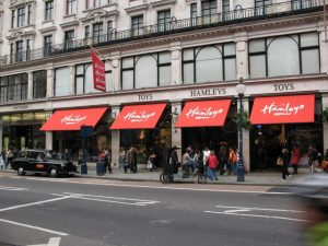 Half term at Hamley's Toy Shop