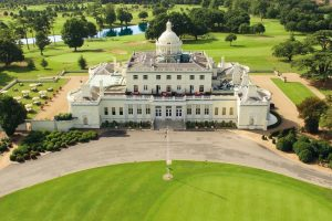 Town & Country Package hotel Stoke Park from above