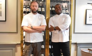 Nigel Menham and Selasi Gbormittah, the creators of Selasi's Signature Afternoon Tea