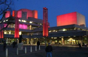 An external shot of The National Theatre in London