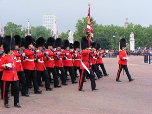 The Palace Guards at Buckingham Palace